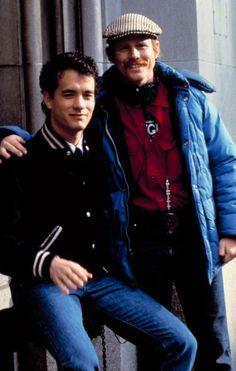 Tom Hanks and Ron Howard