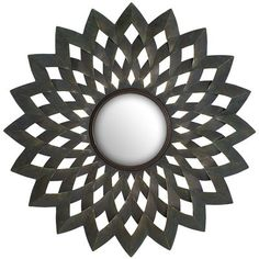 Starburst Elements Mirror. At pier 1 -on sale 95.- Saw this and its pretty cool.