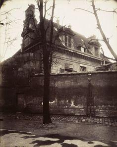 Paris Ancien Couvent Avenue de l'Observatoire Le Paris de 1900 par Atget