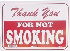 dont smoke near the CFers or anyone who chooses not to smoke for that matter!
