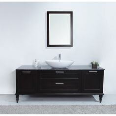 Philippe 72 inch Modern Single Sink Bathroom Vanity with Nero Margiua Marble Top, Malaysia laminated solid wood, Ample storage space for toiletries, Allows for easy plumbing and faucet installation Bathroom Vanity Designs, Bathroom Sink Decor, Modern Bathroom Sink, Rustic Bathroom Vanities, Single Sink Bathroom Vanity, Budget Bathroom, Vanity Sink, Bathroom Furniture, Bath Vanities