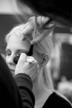 Getting ready for the wedding beauty shot
