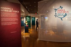 """""""Finding your literary Voice"""" Poets in exile exhibition, use of pop-ups in an exhibit"""