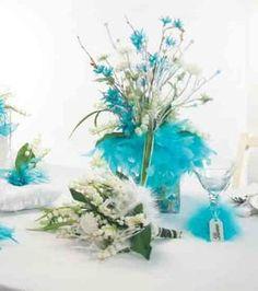 Feathered Wedding Decor