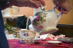 During Victorian High Tea, you get to sip from 7 different flavors.