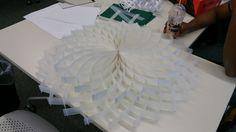 Lampshade/table design by Designer Saqib Ali
