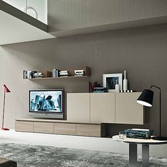 Contemporary Modern TV Media Unit Harmony By Siluetto