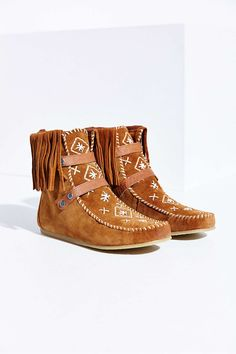 Sam Edelman Moccasin Boots - OBSESSED
