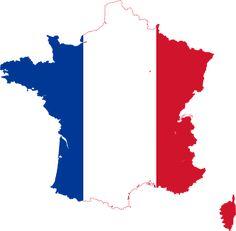 Mapa De Francia, Pabellón Francés