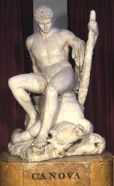 "Antonio Canova ""Theseus and the Minotaur"""