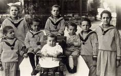 A Group of German Children in Sailor Suits (1928)