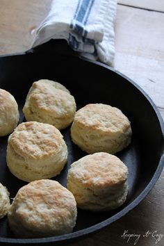 Homemade biscuits... recipe and tutorial