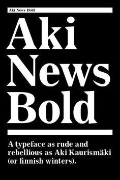 aki news font - Google Search