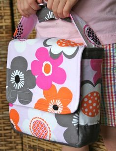 Image of Love Your Lunch Box PDF Sewing Pattern and Bonus snack Bag Pattern