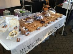 At the Saturday market selling our gluten free food