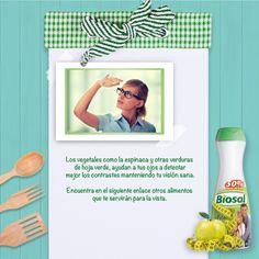 Si te preocupa la salud de tus ojos, aquí te dejamos algunos alimentos que te pueden ser de mucha ayuda . http://www.hoycambio.com/articulos/3/689/9_alimentos_que_son_buenos_para_la_vista.html