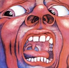 In the Court of the Crimson King / King Crimson  Designed by Barry Godber