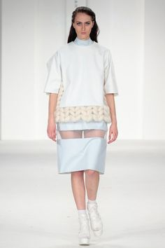 uca rochester, graduate fashion week, 2014, shristi rai, innovative knitwear