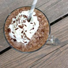 Healthy Starbucks Mocha Frappuccino - The Lemon Bowl