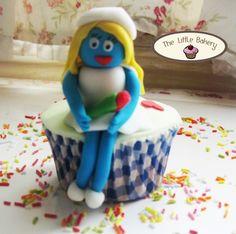 Cupcakes Pitufos