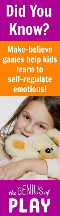 Click through to read more about how play is so helpful in processing and self regulating emotions in our kids. The Genius of Play