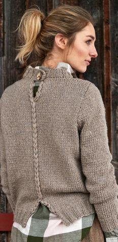 Knitting cardigan diy yarns 48 Ideas for 2019 Crochet Pullover Pattern, Knit Crochet, Cardigan Fashion, Knit Fashion, Knitting Stiches, Knitting Patterns, Crochet Patterns, Beginner Knitting, Knitting Ideas
