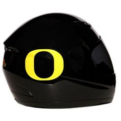 Motorcycle Helmet - University of Oregon Ducks - Full Face / Faced DOT approved Limited Edition Merchandise - Officially Licensed Collegiate Custom Logo Helmets - College Biker Riding Gear - One of a kind UO product - WTD and Ride with U of O Duck Pride by FanRider - Extra Large - Black. Gloss finish with licensed collegiate logos. Advanced lightweight durable shell and fully vented through-out shell. Easy detachable front for easy access. Comes with both a tinted and clear shield. Quick...