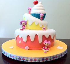 Lalaloopsy Cake, featured on Cake Central