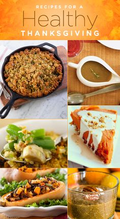 Recipes for a Healthy Thanksgiving