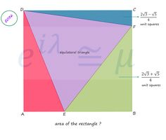 - Kids education and learning acts Geometry Questions, Math Questions, Calculus, Algebra, Math Teacher, Teaching Math, Geometry Problems, Math Problems, Triangles