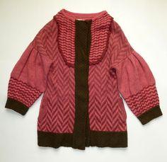 Anthropologie RARE 2008 Harvest Sun Sweatercoat by Liamolly Sz s M   eBay