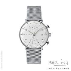 Max Bill Chronoscope Wrist Watch 4003-44