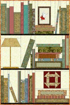 Bookshelf block