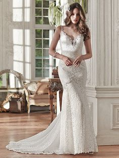 Paigely Wedding Dress by Maggie Sottero   alt 1