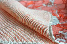 Been wanting to make one of these chenille blankets for a while. On the list it goes