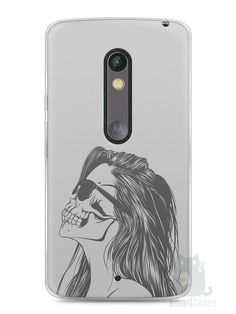 Capa Capinha Moto X Play Mulher Caveira - SmartCases - Acessórios para celulares e tablets :)