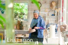 北欧フィーカ|「リサ・ラーソン展」とリサのサマーハウス。|「北欧の豊かな時間 リサ・ラーソン展」開催!スウェーデンの人気陶芸家、リサ・ラーソンの代表作230点が一堂に!|Scandinavian fika. Lisa, Artist, Artists