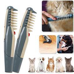 Listrik Pet Dog Grooming Sisir Kucing Pemangkas Rambut Simpul Keluar  Menghapus Tikar Kusut Alat Perlengkapan Furmins 87439d454e