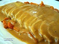 Lomo de cerdo a la cerveza (Olla rápida) - Graceful Tutorial and Ideas Pork Recipes, Mexican Food Recipes, Recipies, Kitchen Recipes, Cooking Recipes, Guisado, Salty Foods, Carne Asada, International Recipes