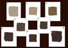 Best Brown Paints As Seen In House Beautiful