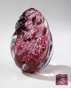 OBG Paperweight - OBG = Ornamental Blown Glass, Lynnwood, WA, USA
