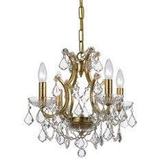 Grace never goes out of style. Filmore is a collection designed for today, tomorrow and everyday. It features modern hand-painted finishes, graceful lines and updated crystal shape. This collection takes the notion of Maria Theresa chandeliers beyond traditional into the transitional.