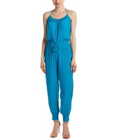Barth Jyler Jumpsuit In Blue Calypso St Barth, Jumpsuit, Blue, Clothes, Collection, Shopping, Dresses, Style, Fashion