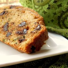 """Chocolate Chip Orange Zucchini Bread 