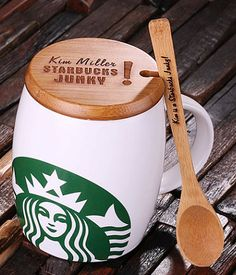 Personalized Starbucks mug - great gift for the Starbucks lover
