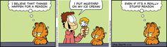 Garfield Comic Strip, November 14, 2015     on GoComics.com