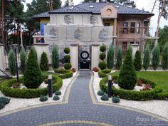 Front Garden Landscape, Porch Garden, Landscape Design, Side Yard Landscaping, Gravel Landscaping, Rock Garden Design, Yard Design, Covered Patio Design, Front Gardens