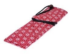 Travel Chopsticks Red Carrying Case