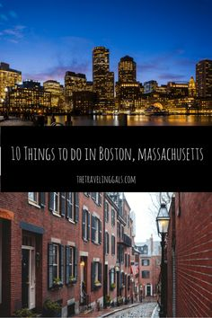 10 Things to do in Boston, Massachusetts - Read more on thetravelinggals.com #Boston #USA #Travel #AtoZChallenge