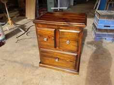 Bed side cabinet Solid Pine Furniture, Filing Cabinet, Storage, Bed, Home Decor, Purse Storage, Homemade Home Decor, Binder, Stream Bed